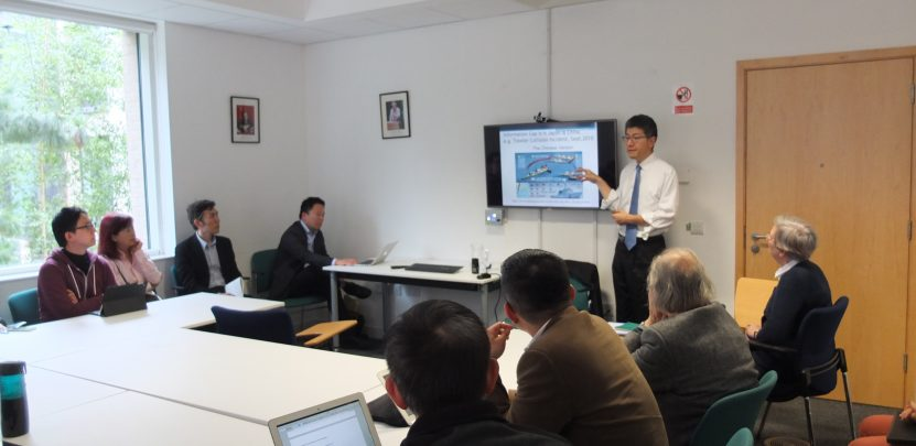 Prof Akio Takahara in Cambridge