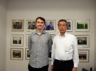 Tom Monaghan and Okuyama san