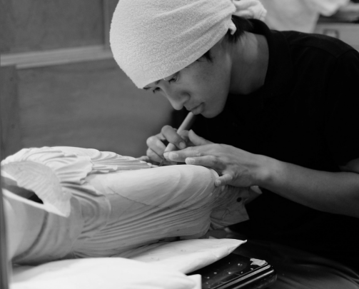 Dr Kojima Hisanori, sculptor, conservator and expert in wood carving