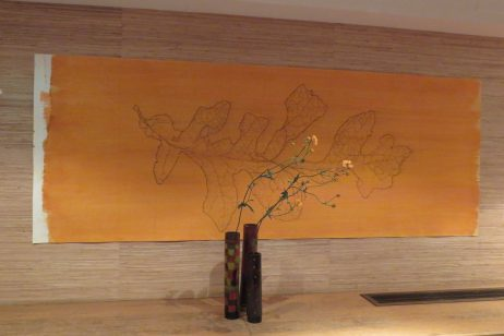 Takaya Fujii ikebana orange