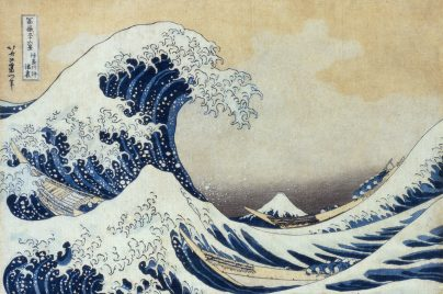 The Great Wave off Kanagawa (must credit 'Sumida Hokusai Museum Collection')