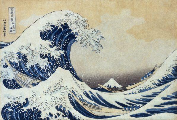 The Great Wave off Kanagawa (must credit 'Sumida Hokusai Museum Collection')