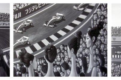 Formula 1 racing Carl